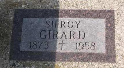 GIRARD, SIFROY - Union County, South Dakota   SIFROY GIRARD - South Dakota Gravestone Photos