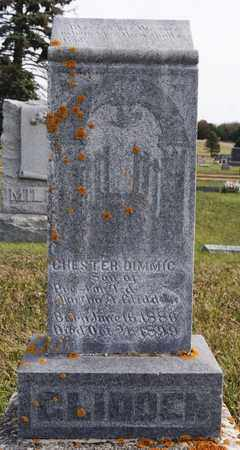 GLIDDEN, CHESTER DIMMIC - Union County, South Dakota | CHESTER DIMMIC GLIDDEN - South Dakota Gravestone Photos