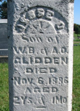 GLIDDEN, JESSIE D. (CLOSE UP) - Union County, South Dakota | JESSIE D. (CLOSE UP) GLIDDEN - South Dakota Gravestone Photos