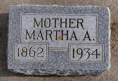 GLIDDEN, MARTHA A - Union County, South Dakota | MARTHA A GLIDDEN - South Dakota Gravestone Photos