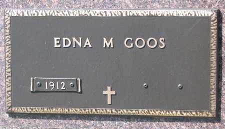 GOOS, EDNA M. - Union County, South Dakota | EDNA M. GOOS - South Dakota Gravestone Photos