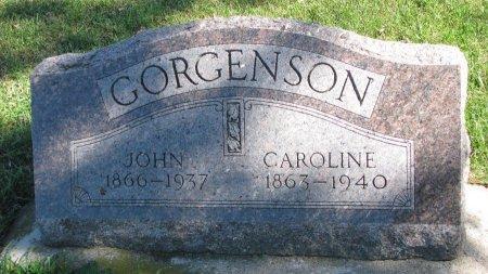 GORGENSON, CAROLINE - Union County, South Dakota | CAROLINE GORGENSON - South Dakota Gravestone Photos