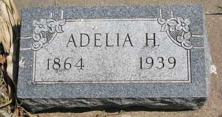 GRAHAM, ADELIA H. - Union County, South Dakota | ADELIA H. GRAHAM - South Dakota Gravestone Photos