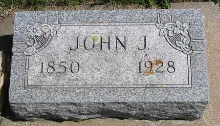 GRAHAM, JOHN J. - Union County, South Dakota | JOHN J. GRAHAM - South Dakota Gravestone Photos