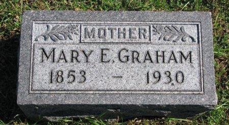 GRAHAM, MARY E. - Union County, South Dakota | MARY E. GRAHAM - South Dakota Gravestone Photos