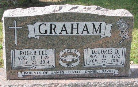 GRAHAM, ROGER LEE - Union County, South Dakota | ROGER LEE GRAHAM - South Dakota Gravestone Photos