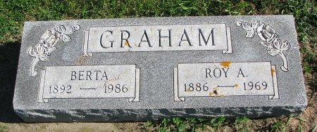 GRAHAM, BERTA - Union County, South Dakota | BERTA GRAHAM - South Dakota Gravestone Photos