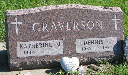 GRAVERSON, KATHERINE M. - Union County, South Dakota   KATHERINE M. GRAVERSON - South Dakota Gravestone Photos