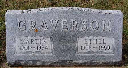 GRAVERSON, ETHEL - Union County, South Dakota | ETHEL GRAVERSON - South Dakota Gravestone Photos