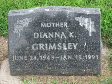 DELANEY GRIMSLEY, DIANNA K. - Union County, South Dakota | DIANNA K. DELANEY GRIMSLEY - South Dakota Gravestone Photos