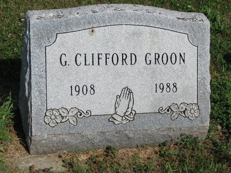 GROON, GERALD CLIFFORD - Union County, South Dakota | GERALD CLIFFORD GROON - South Dakota Gravestone Photos
