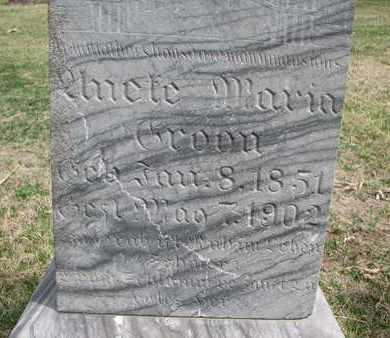 GROON, MARIA (CLOSEUP) - Union County, South Dakota   MARIA (CLOSEUP) GROON - South Dakota Gravestone Photos
