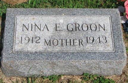 GROON, NINA E. - Union County, South Dakota | NINA E. GROON - South Dakota Gravestone Photos