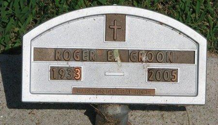 GROON, ROGER E. - Union County, South Dakota | ROGER E. GROON - South Dakota Gravestone Photos