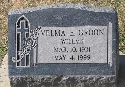 GROON, VELMA E. - Union County, South Dakota | VELMA E. GROON - South Dakota Gravestone Photos