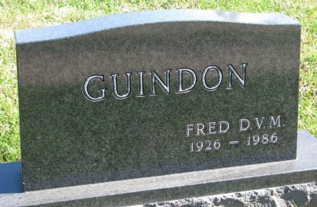 "GUINDON, DR. FREDRICK V. ""FRED"" - Union County, South Dakota 