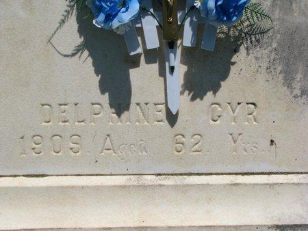 GYR, DELPHINE (CLOSEUP) - Union County, South Dakota | DELPHINE (CLOSEUP) GYR - South Dakota Gravestone Photos
