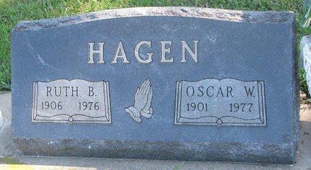 HAGEN, RUTH B. - Union County, South Dakota   RUTH B. HAGEN - South Dakota Gravestone Photos