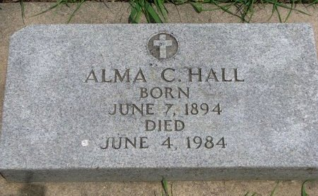 LABRUNE HALL, ALMA C. - Union County, South Dakota | ALMA C. LABRUNE HALL - South Dakota Gravestone Photos
