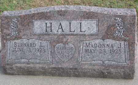 HALL, MADONNA J. - Union County, South Dakota   MADONNA J. HALL - South Dakota Gravestone Photos