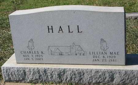 HALL, LILLIAN MAE - Union County, South Dakota | LILLIAN MAE HALL - South Dakota Gravestone Photos