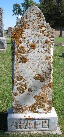 HALL, JOHN H. - Union County, South Dakota | JOHN H. HALL - South Dakota Gravestone Photos