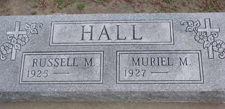 HALL, MURIEL M. - Union County, South Dakota | MURIEL M. HALL - South Dakota Gravestone Photos