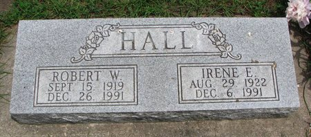 HALL, ROBERT W. - Union County, South Dakota | ROBERT W. HALL - South Dakota Gravestone Photos