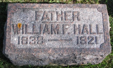 HALL, WILLIAM F. - Union County, South Dakota | WILLIAM F. HALL - South Dakota Gravestone Photos