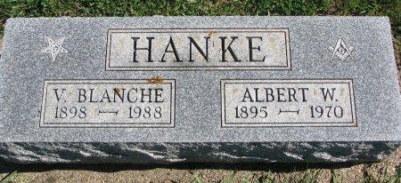 HANKE, V. BLANCHE - Union County, South Dakota | V. BLANCHE HANKE - South Dakota Gravestone Photos