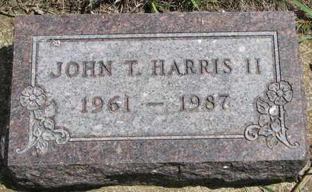 HARRIS, JOHN T. II - Union County, South Dakota | JOHN T. II HARRIS - South Dakota Gravestone Photos