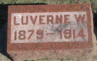 HARTER, LUVERNE W. - Union County, South Dakota | LUVERNE W. HARTER - South Dakota Gravestone Photos