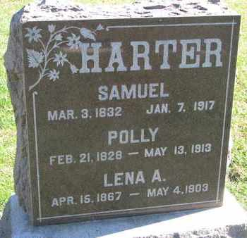HARTER, POLLY - Union County, South Dakota | POLLY HARTER - South Dakota Gravestone Photos