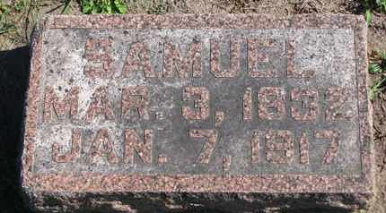 HARTER, SAMUEL (FOOTSTONE) - Union County, South Dakota | SAMUEL (FOOTSTONE) HARTER - South Dakota Gravestone Photos
