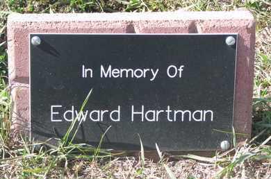 HARTMAN, EDWARD - Union County, South Dakota   EDWARD HARTMAN - South Dakota Gravestone Photos