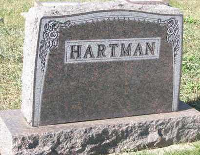 HARTMAN, FAMILY MONUMENT - Union County, South Dakota | FAMILY MONUMENT HARTMAN - South Dakota Gravestone Photos