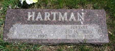"HARTMAN, ED H. ""BUD"" - Union County, South Dakota | ED H. ""BUD"" HARTMAN - South Dakota Gravestone Photos"