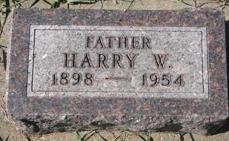 HARTMAN, HARRY WILLIAM - Union County, South Dakota | HARRY WILLIAM HARTMAN - South Dakota Gravestone Photos