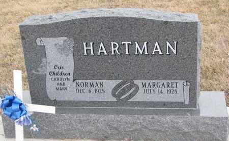 HARTMAN, MARGARET LORRAINE - Union County, South Dakota | MARGARET LORRAINE HARTMAN - South Dakota Gravestone Photos