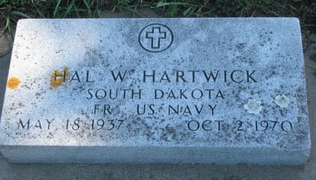 HARTWICK, HAL W. (US NAVY) - Union County, South Dakota | HAL W. (US NAVY) HARTWICK - South Dakota Gravestone Photos