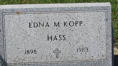 KOPP HASS, EDNA M. - Union County, South Dakota | EDNA M. KOPP HASS - South Dakota Gravestone Photos