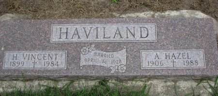 HAVILAND, H. VINCENT - Union County, South Dakota | H. VINCENT HAVILAND - South Dakota Gravestone Photos