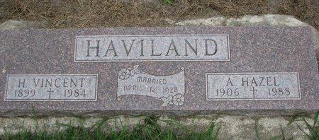 QUARLES HAVILAND, A. HAZEL - Union County, South Dakota | A. HAZEL QUARLES HAVILAND - South Dakota Gravestone Photos