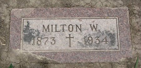 HAVILAND, MILTON W. - Union County, South Dakota | MILTON W. HAVILAND - South Dakota Gravestone Photos