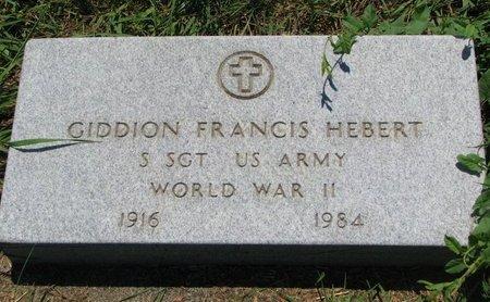 "HEBERT, GIDDION FRANCIS ""JED"" (WORLD WAR II) - Union County, South Dakota | GIDDION FRANCIS ""JED"" (WORLD WAR II) HEBERT - South Dakota Gravestone Photos"