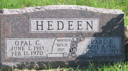 JONES HEDEEN, OPAL C. - Union County, South Dakota | OPAL C. JONES HEDEEN - South Dakota Gravestone Photos
