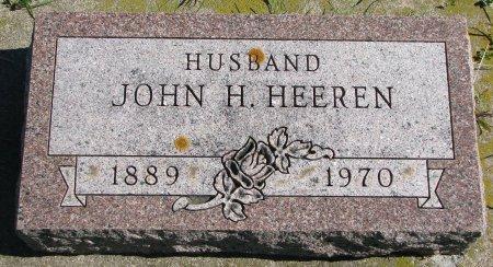 HEEREN, JOHN H. - Union County, South Dakota   JOHN H. HEEREN - South Dakota Gravestone Photos