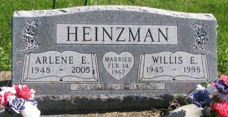 HEINZMAN, WILLIS E. - Union County, South Dakota | WILLIS E. HEINZMAN - South Dakota Gravestone Photos