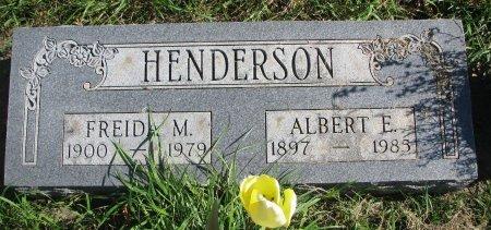 HENDERSON, FREIDA M. - Union County, South Dakota   FREIDA M. HENDERSON - South Dakota Gravestone Photos
