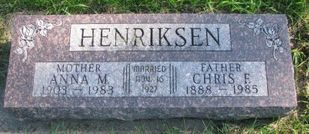 BRAASTAD-NISSEN HENRIKSEN, ANNA MARIE - Union County, South Dakota   ANNA MARIE BRAASTAD-NISSEN HENRIKSEN - South Dakota Gravestone Photos